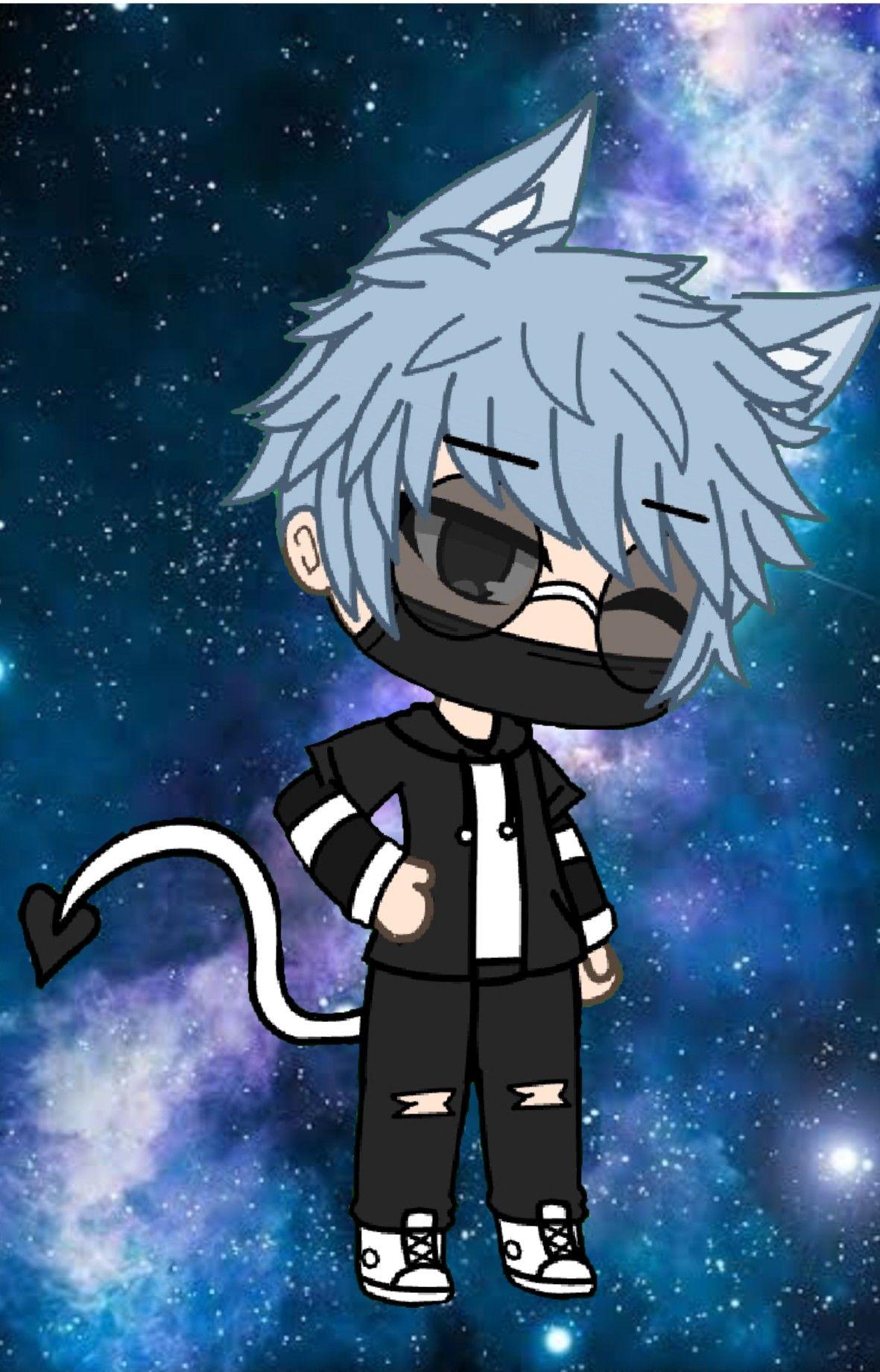 Gacha Life Konbin Anime Wolf Girl Cute Anime Character Cute Wild Animals