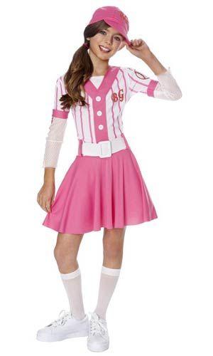 Baseball Girls Costume - Girls Costume  sc 1 st  Pinterest & Baseball Girls Costume - Girls Costume | Baseball Outfits for Women ...