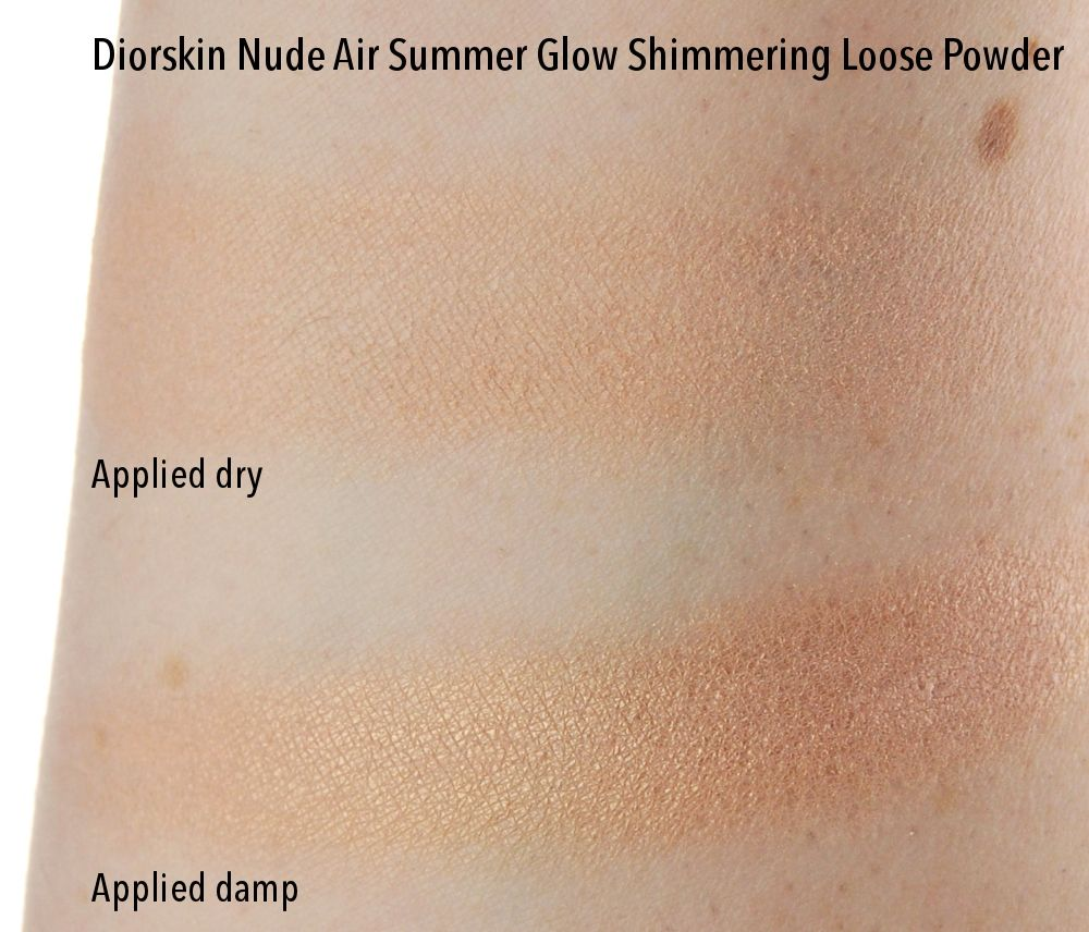 abf2fbe11a Diorskin Nude Air Summer Glow Shimmering Loose Powder review swatch ...