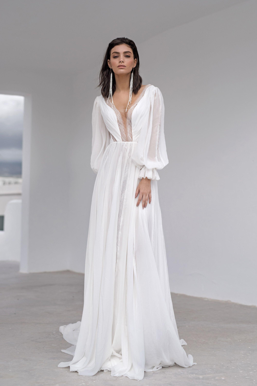 Wedding Dress Nait By Blammo Biamo Collection Ocean Dream Long