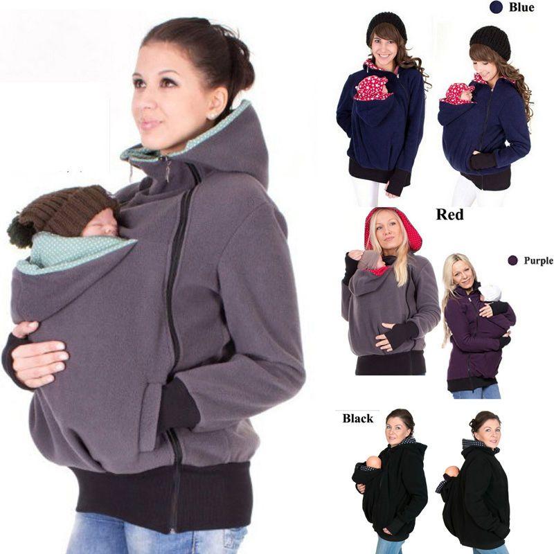 3057abb09eeb9 Maternity Polar warm fleece Hoodie Jumper Pullover Babywearing BABY CARRIERS  #Unbranded #FleeceJacket