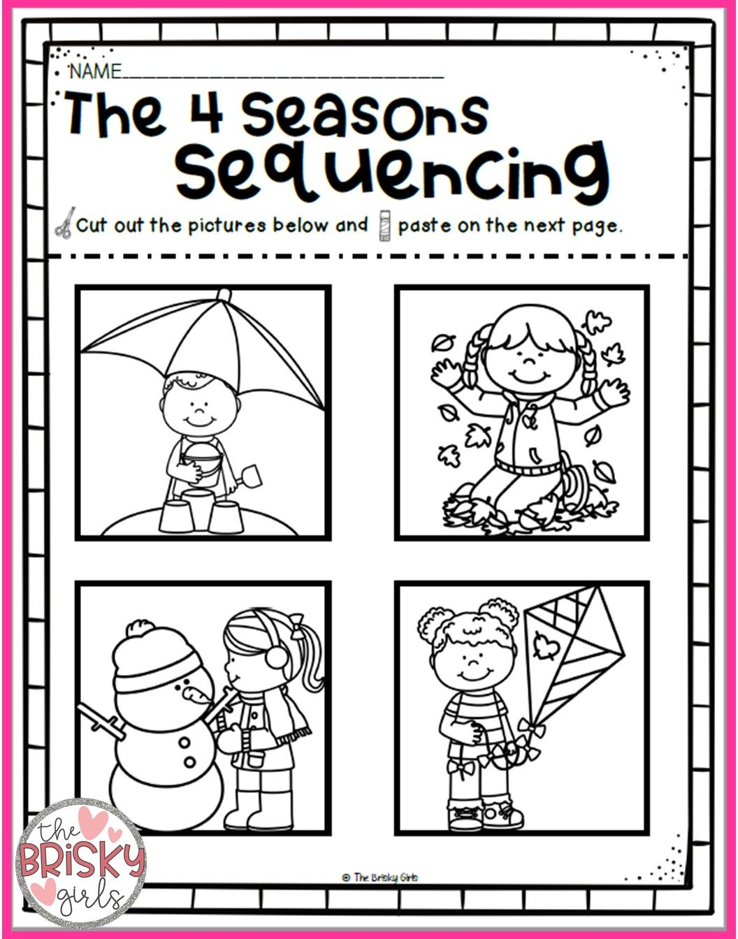 The Four Seasons Spring Summer Fall Winter Seasons Printables Seasons Reading Passages T Seasons Worksheets Seasons Kindergarten Kindergarten Worksheets [ 1344 x 1056 Pixel ]