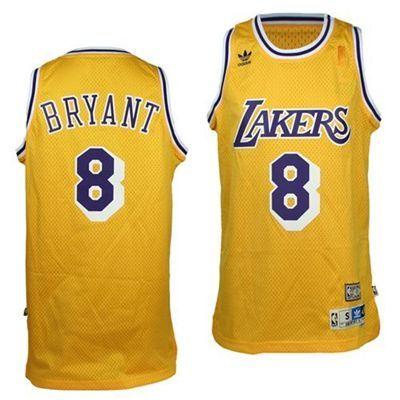 Kobe Bryant Los Angeles Lakers Hardwood Classics 8 Swingman Jersey Gold Lakers Kobe Bryant Lakers Kobe Kobe Bryant Shirt