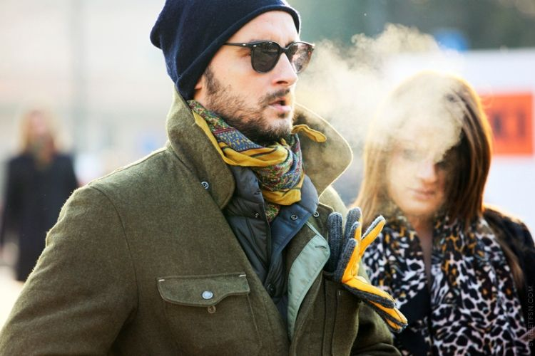 How to dress for a party in winter men fashion