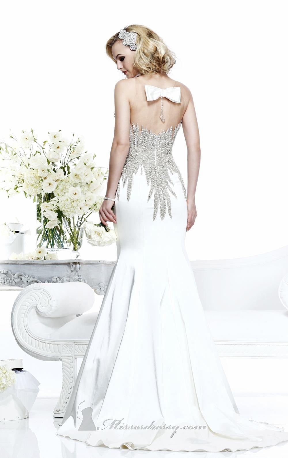 Bride Dress Tarik Ediz 2018