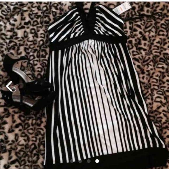 BCBGmaxazaria halter dress Brand new with tags- only worn to model in photo  BCBGMaxAzria Dresses Mini