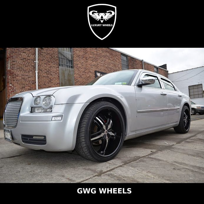 Chrysler 300 Looking Like A Beast With Our Spades In Black With