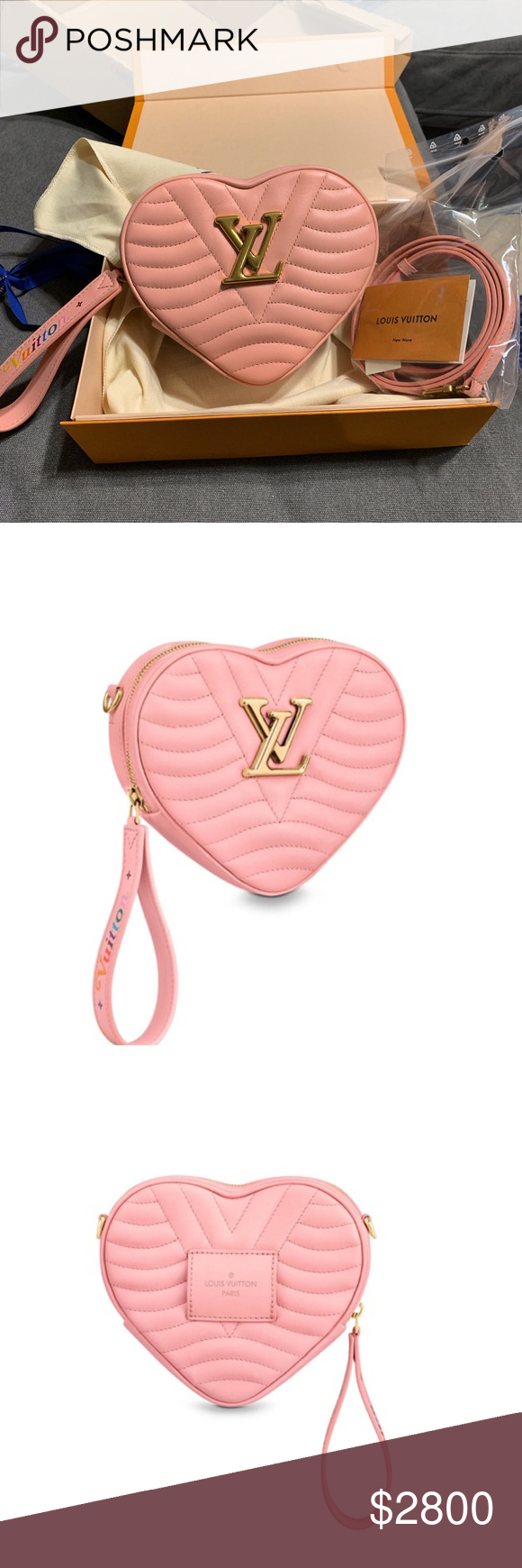 209c6cca9f13 Spotted while shopping on Poshmark  Louis Vuitton Digital Exclusive Heart  Bag!  poshmark  fashion  shopping  style  Louis Vuitton  Handbags