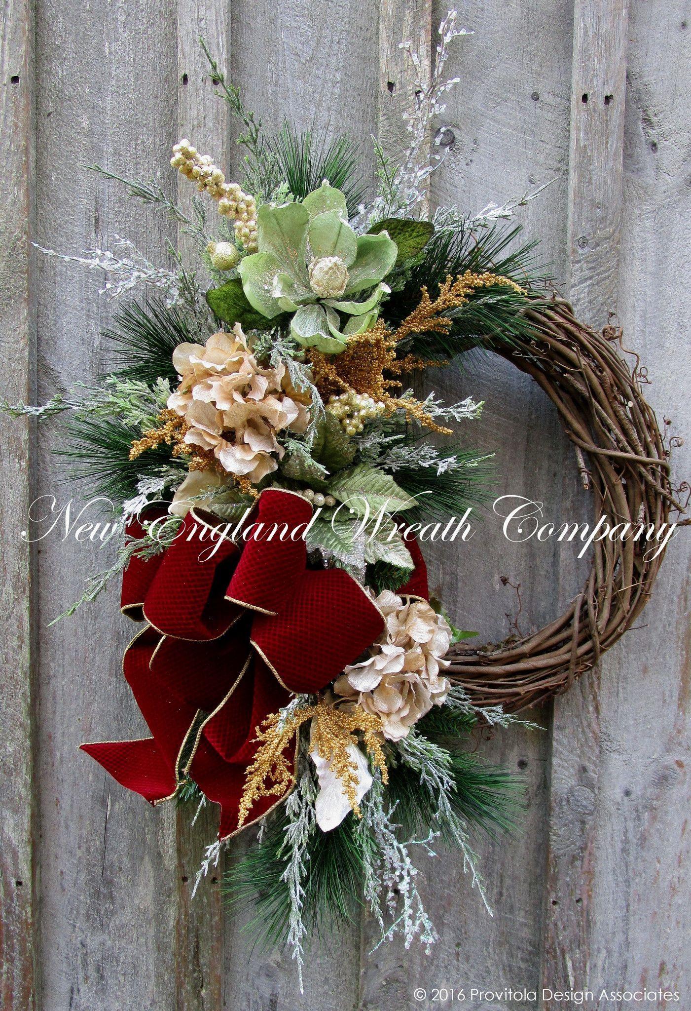 Copley Place Holiday Wreath Christmas Wreaths Christmas Wreaths Diy Holiday Wreaths