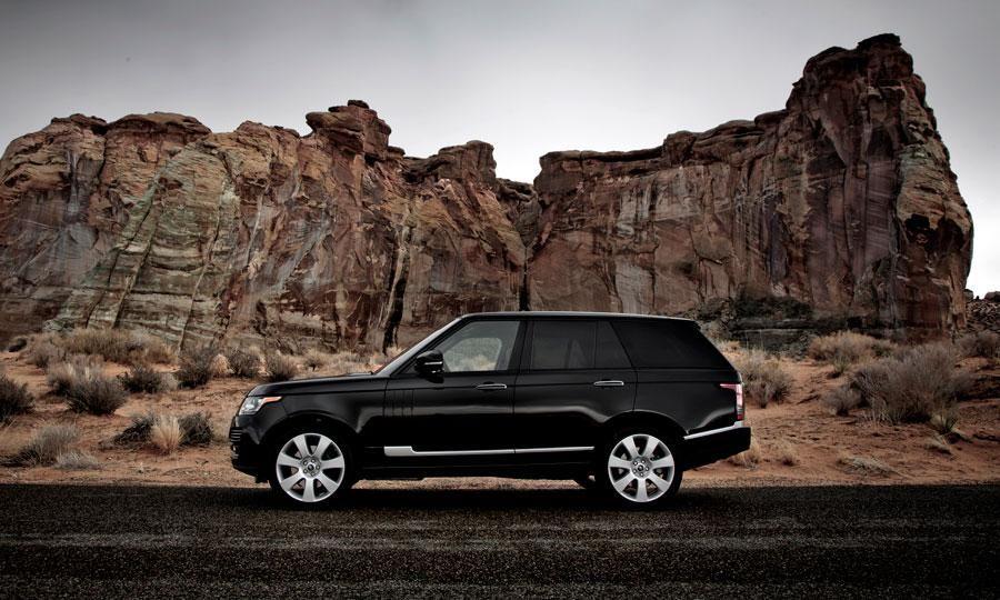 2013 Range Rover profile Voiture