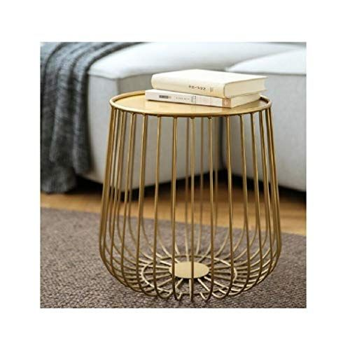 Lyqz Nordic Wrought Iron Coffee Table Modern Living Room
