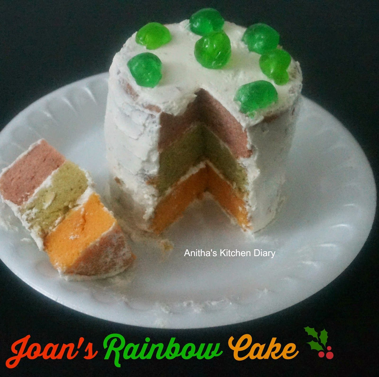 When I Saw This Joan S Rainbow Cake In Tamil Movie Un Samayal Arayal Which Is The Remake Of Malayalam Movie Salt N Peppe Rainbow Cake Cake Let Them Eat Cake