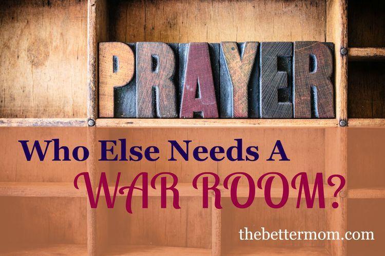 Who Else Needs A War Room?
