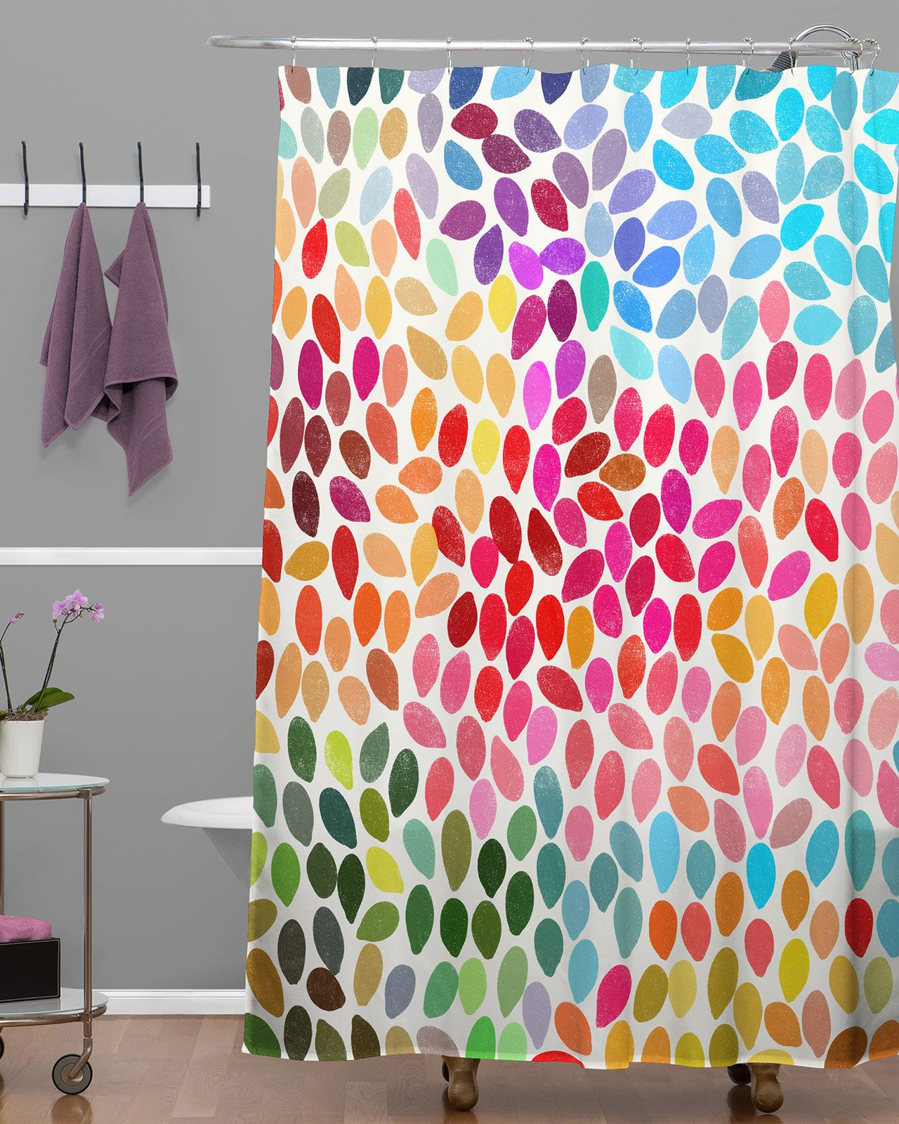 primary colors kids shower curtain - Google Search | Camper ...