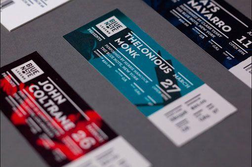 Gallery Print Design Inspiration Concert tickets