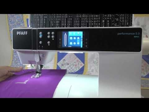Pfaff Quilt Expression 4 2 Youtube Sewing Machine