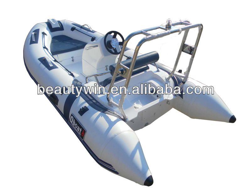 CE)3 9m fiberglass used rib boat fishing boat for sale $1400