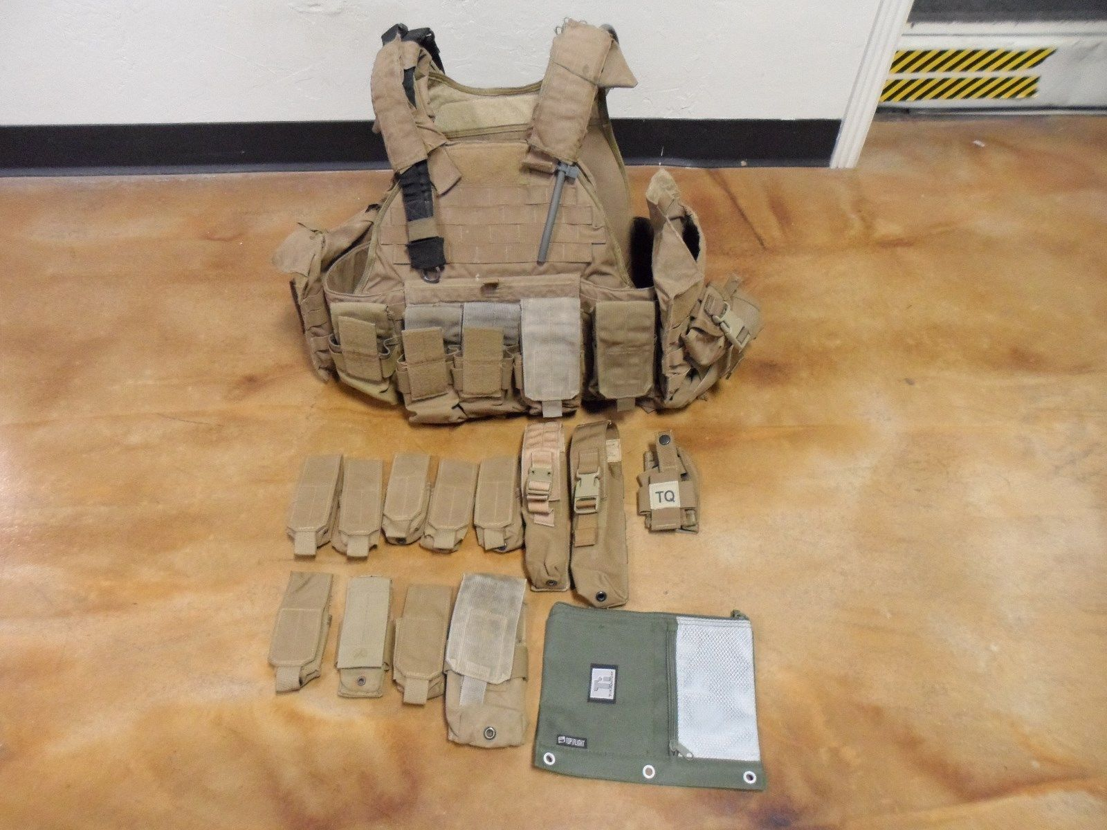 Eagle Industries Modular Holster Small Plate Carrier Chest Rig Left Hand