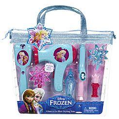 Disney Hair Styling Tote Disney Frozen Frozen Hair Toys Deals Disney Frozen
