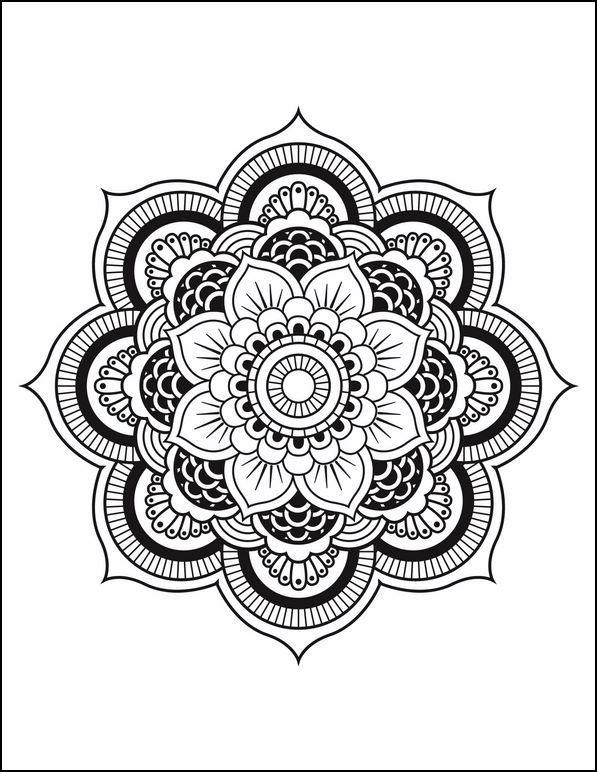 Mandala de flor | Imagenes | Pinterest | Imagenes de mandalas ...