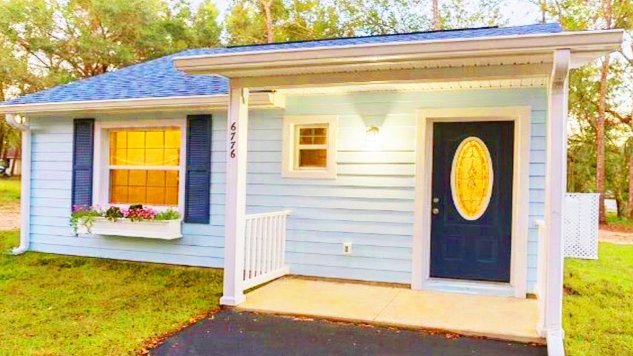 Stunning Tiny House on Foundation Located Citrus county