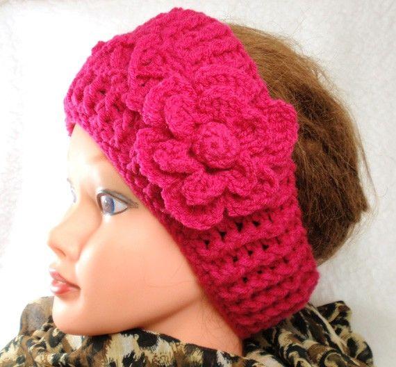 Pdf 2 Patterns For Crochet Earwarmer Headband And By Daisyclub