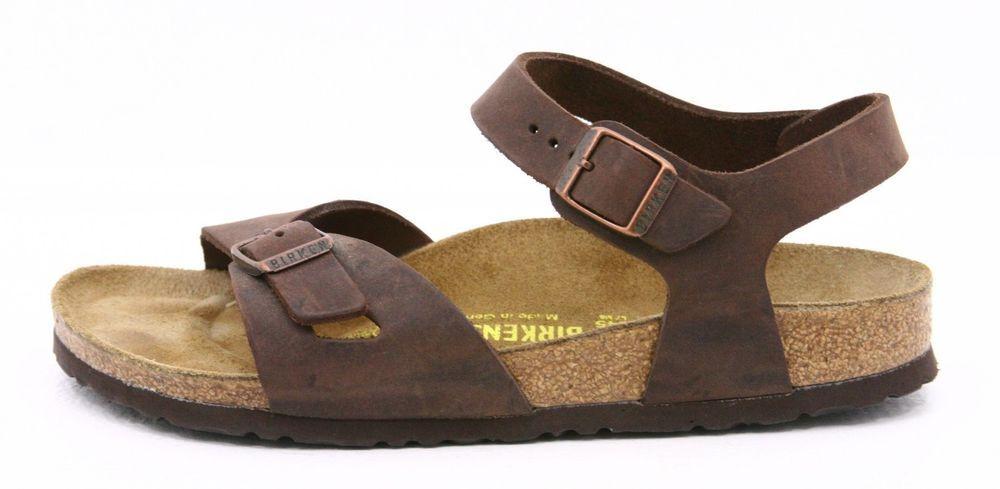 5ce01c2b2e8 Birkenstock 38 womens sandals size 7 Bali ankle strap leather EXCELLENT  WORN 1X  Birkenstock  AnkleStrap