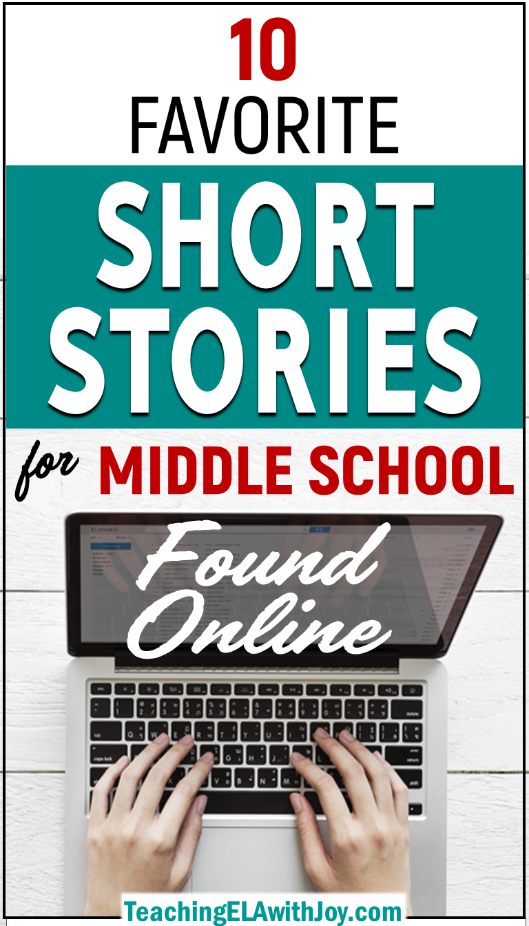 10 Favorite Short Stories for Middle School Found Online is part of Teaching short stories, Middle school short stories, Middle school reading, Middle school literature, Middle school ela, Teaching ela - These ten topnotch short stories are perfect for teaching in middle school  Students can access the stories online and explore relevant themes