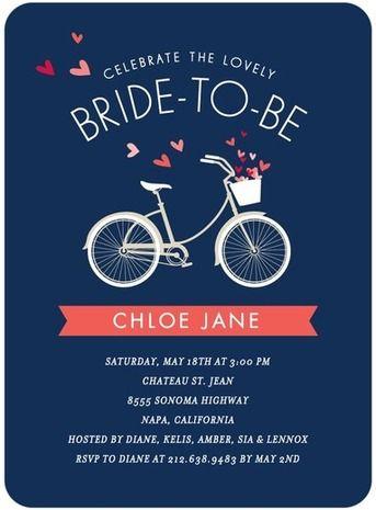 We suggest petite alma bicycle bridal shower invitations 66 for we suggest petite alma bicycle bridal shower invitations 66 for 35 on weddingpaper filmwisefo Choice Image