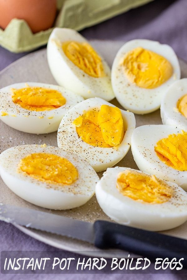 Instant Pot Hard Boiled Eggs Recipe Instant Pot Gluten