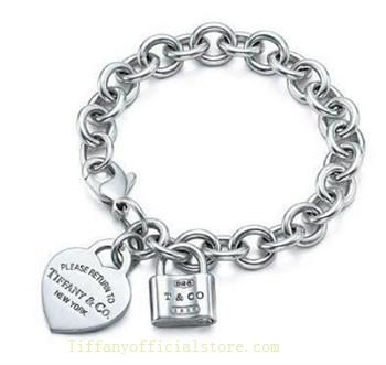 9c5261729224 Tiffany   Co Outlet Return To Heart and Lock Tag Bracelet