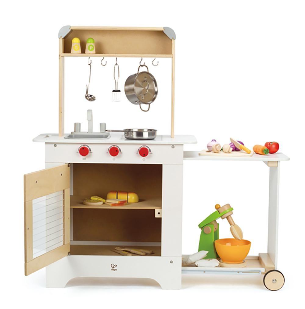 Amazon.com: Hape - Playfully Delicious - Cook n\' Serve Kitchen ...