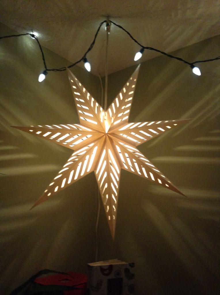 Ikea Paper Star Lantern Paper Lantern Lights Holiday Season Decorations Paper Star Lanterns
