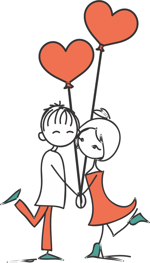 Resultado de imagem para casal enamorado noivinhos
