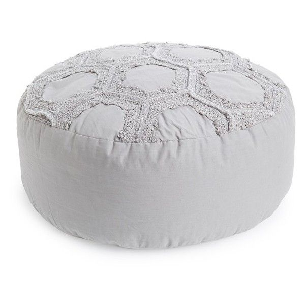 Nordstrom at Home  Tufted Lace   Honeycomb  Pouf   118    liked on. Nordstrom at Home  Tufted Lace   Honeycomb  Pouf   118    liked