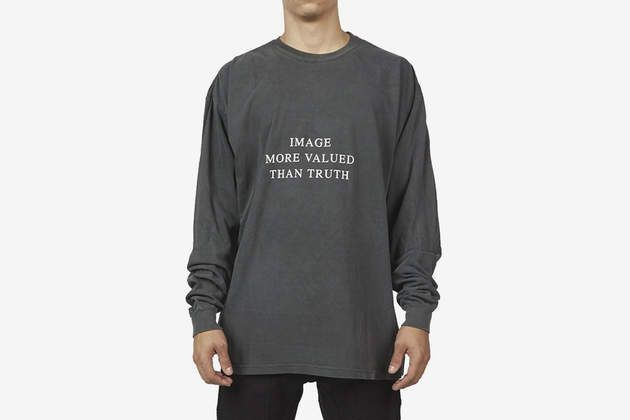 Image More Valued Than Truth L/S T-Shirt by HYMNE on What Drops Now