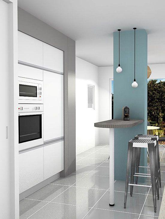 maison#immobilier#aménagement #lifestyle#cuisine Se projeter pour l - Amenagement Cuisine En U