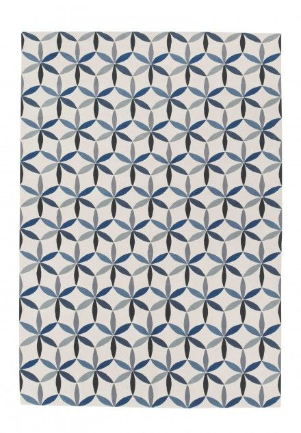 Starflower blue by edward barber jay osgerby lana alfombras contempor neas de dise adores - Alfombras contemporaneas ...
