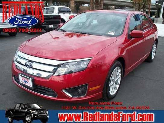 Cars For Sale 2011 Ford Fusion Sel In Redlands Ca 92374 Sedan
