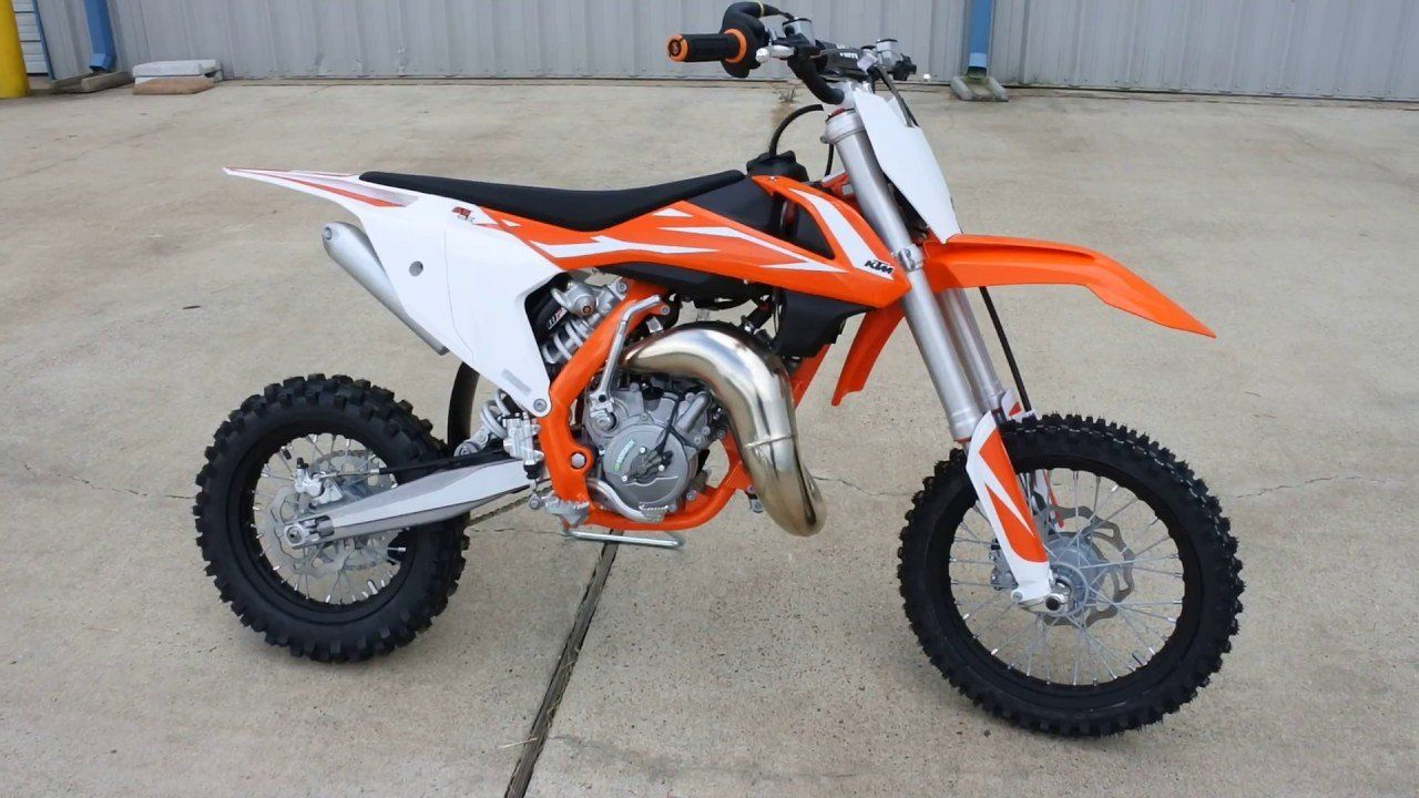 Ktm 65 2018 Redesign From 4 999 2018 Ktm 65 Sx Now With Air Fork