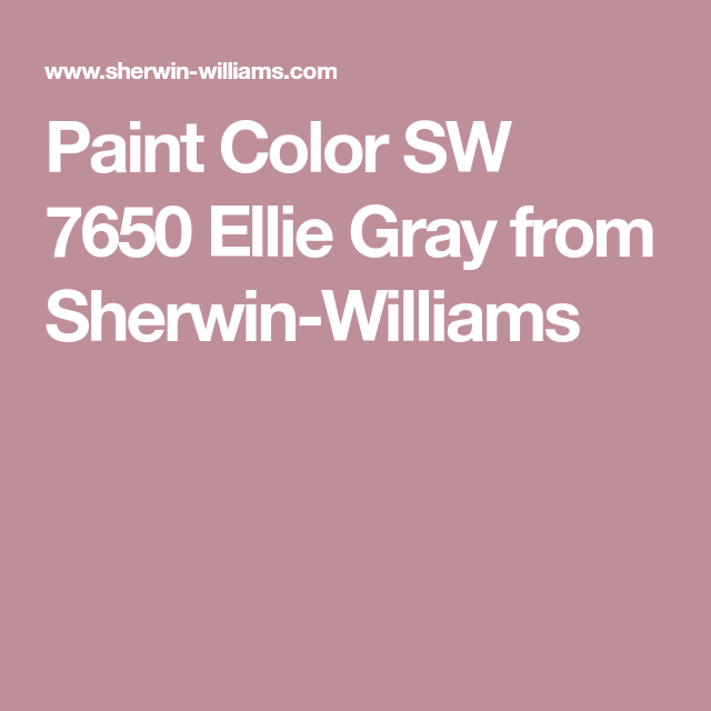 Best Paint Color Sw 7650 Ellie Gray From Sherwin Williams 640 x 480