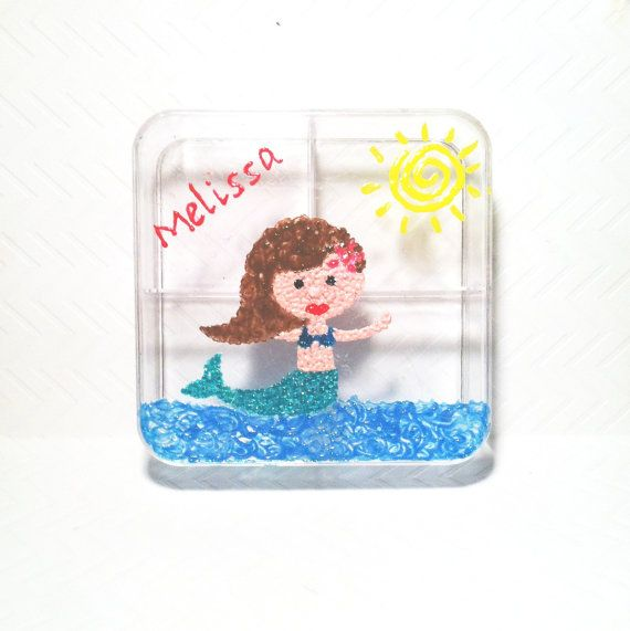 Mermaid Gift / Favor Box by DoodlelyDoo on Etsy