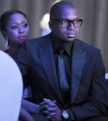 "Itumeleng ""Itu"" Khune & his former girlfriend TV presenter Minenhle Dlamini (Goalkeeper of the South African national football team, the ""Bafana Bafana"" / Gardien de l'équipe nationale de football, les ""Bafana Bafana"")"