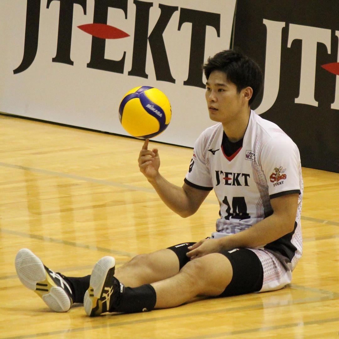 Yujinishida Nishida Volleyball In 2020 Japan Volleyball Team Volleyball Motivation Volleyball Team