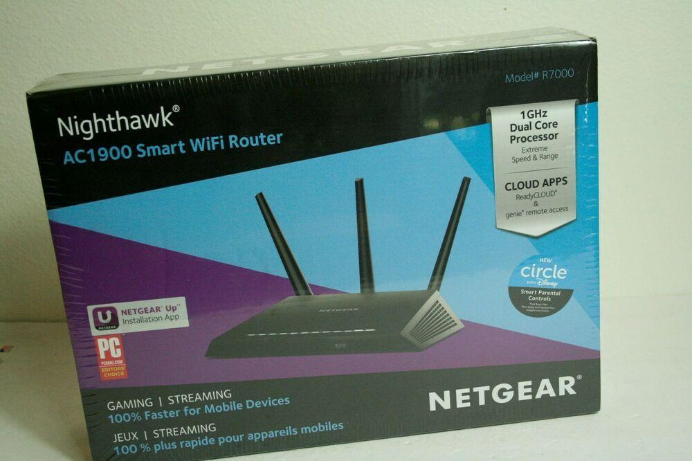 Netgear AC1900 Nighthawk Smart WiFi Router R7000 NIB