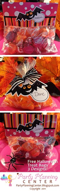 Personalized #Halloween trick or treat bags you can print and make at home