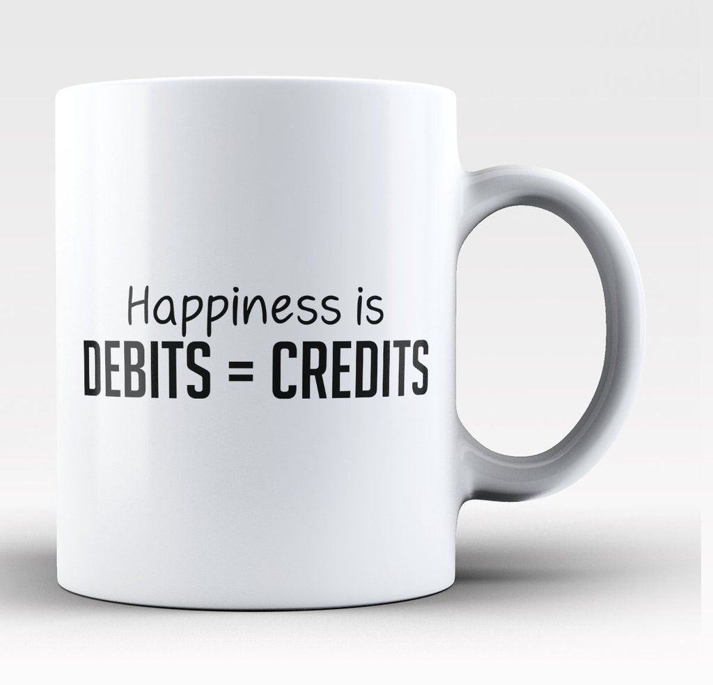 Happiness Is Debits Credits