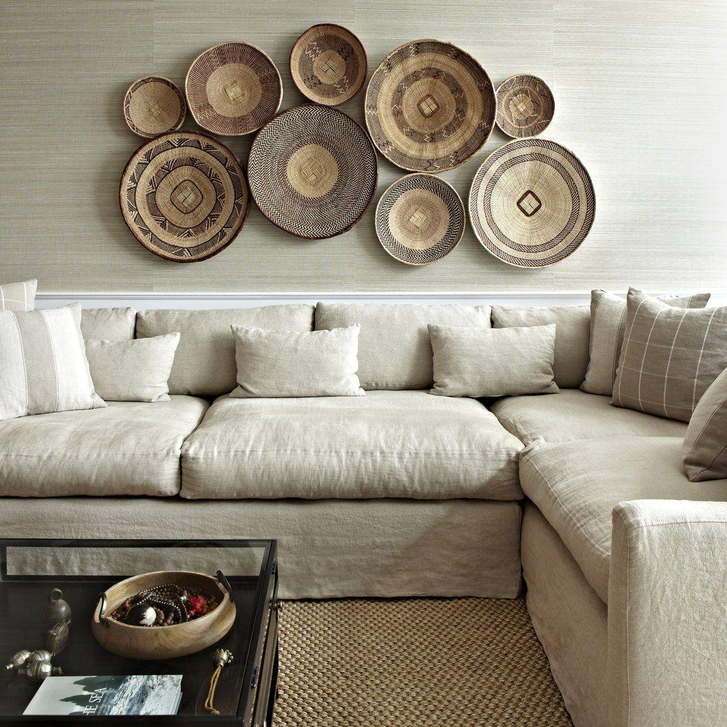Extra Large Tonga Basket Living Room Wall Home Decor Decor #throw #basket #for #living #room