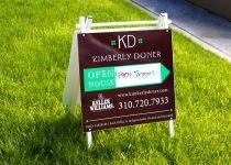 Signage for Kimberly Doner