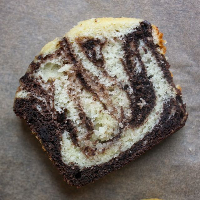Simple Chocolate Marble Cake Recipe
